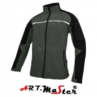 Kurtka Softshell PROFESSIONAL Grey