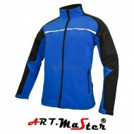 Kurtka Softshell PROFESSIONAL Blue