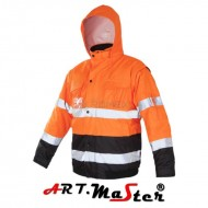 KURTKA FLASH short B orange Kat. 2